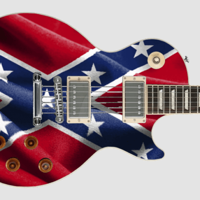 Les Paul Confederate flag